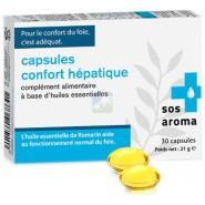 SOS Aroma Capsules Confort Hépatique x 30