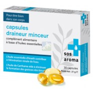 SOS Aroma Capsules Draineur Minceur x 30