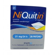NiQuitin patchs 21 mg/24h x 28