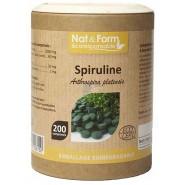 Nat&Form Spiruline 500 mg Bio