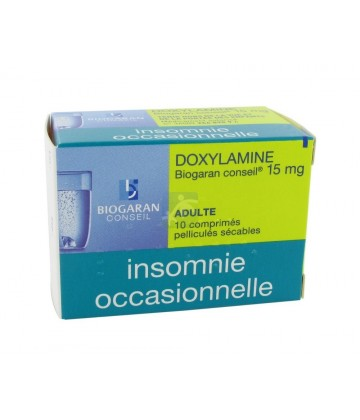 Doxylamine Biogaran 15 mg
