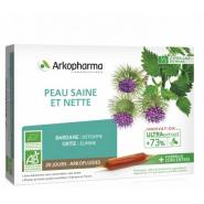 Arkopharma Arkofluides Peau Saine et Nette Bio x 20