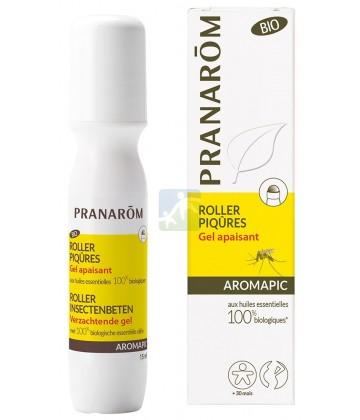 Pranarôm Aromapic Roller Piqûres Gel Apaisant Bio 15 ml