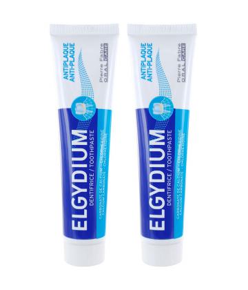 Elgydium Dentifrice Anti-plaque 2 x 75 ml