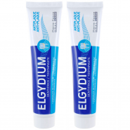 Elgydium Dentifrice Anti-plaque 2 x 75 ml