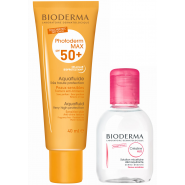 Bioderma Photoderm Max SPF 50+ 40 ml + Créaline H2O 100 ml OFFERTE