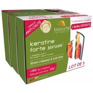 Biocyte Anti-Chute Kératine Forte Sérum  Lot de 3 x 5