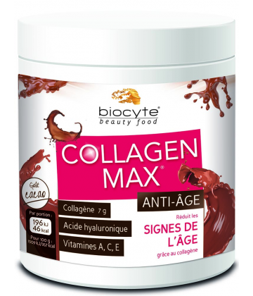 Biocyte Beauty Food Collagen Max Goût Cacao 260 g