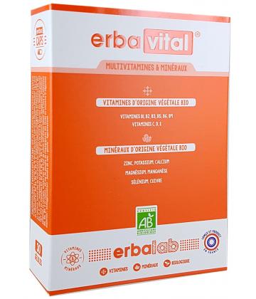 Nutrisanté Erbavital Bio x 30