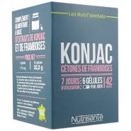 Nutrisanté Konjac Cétones de Framboises x 42