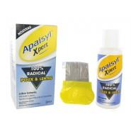 Apaisyl Xpert 100% Radical Poux & Lentes 100 ml