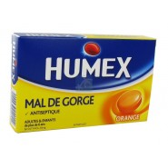 Humex Gorge Pastilles Orange x 24