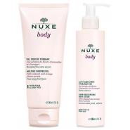 Nuxe Body Lait Fluide Corps 400 ml + Gel Douche Fondant 200 ml