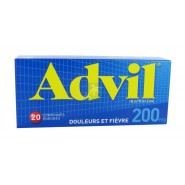 Advil 200 mg comprimés x 20