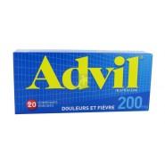 Advil 200 mg comprimés x 20