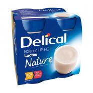 Delical Boisson HP/HC Lactée Saveur Nature 4 x 200 ml