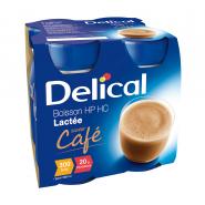Delical Boisson HP/HC Lactée Saveur Café 4 x 200 ml