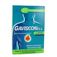 Gavisconell Menthe Sans Sucre x 24