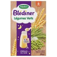 Blédîner Céréales Légumes Verts 240 g