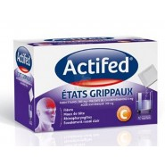 Actifed Etats grippaux x 10
