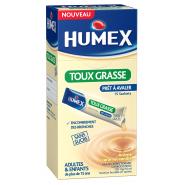 Humex Expectorant Carbocistéïne 750 mg/10 ml Sans Sucre Sachets x 15