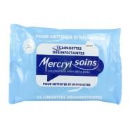 Mercryl Soins Lingettes Désinfectantes x 15
