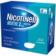 Nicotinell Menthe 2 mg Comprimés à sucer x 204