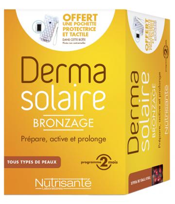 Nutrisanté Dermasolaire Bronzant x 150