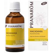 Pranarôm Huile Végétale Macadamia 50 ml