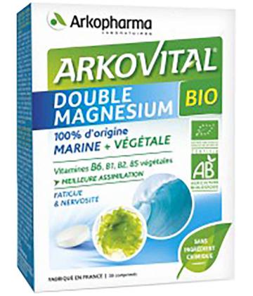 Arkopharma Arkovital Double Magnésium Bio x 30