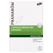 Pranarôm Aromaforce Capsules Bronches Eubiarom Bio x 30