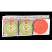 Roger&Gallet Savon Fleur d'Osmanthus 2 x 100 g + Boite de Voyage OFFERTE