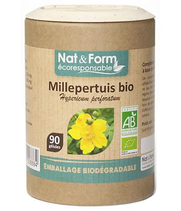 Nat&Form Ecoresponsable Millepertuis Bio x 90