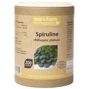 Nat&Form Spiruline Bio x 200
