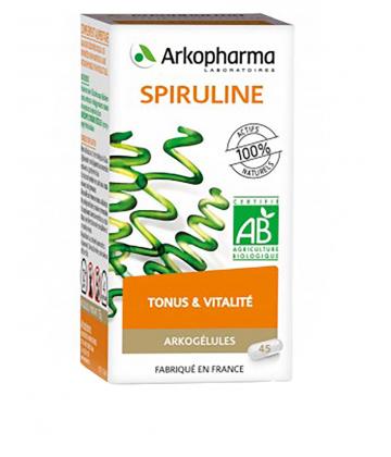 Arkogélules Spiruline Bio x 45