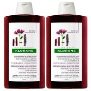 Klorane Shampooing Quinine + Vitamines B 2 x 400 ml