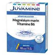 Juvamine Magnésium Marin Vitamine B6 Ampoules x 10