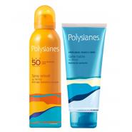 Polysianes Spray Velouté SPF50+ 150 ml + Gelée Fraîche Après-Soleil 200 ml OFFERTE