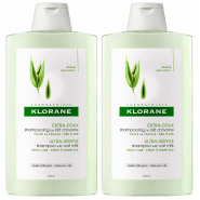 Klorane Shampooing au Lait d'Avoine 2 x 400 ml
