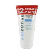 CicaBiafine Crème Mains Réparation Intense 2 x 75 ml