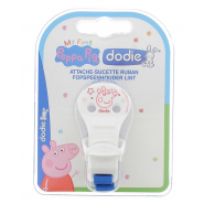 Dodie Attache Sucette Ruban Peppa Pig