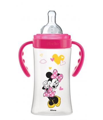 Dodie, Biberon anti-colique Disney baby Minnie 270 ml