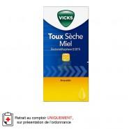 Vicks 0,133 % Sirop Toux sèche Miel Adulte 120 ml