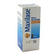 Maxilase Maux de gorge Sirop 125 ml