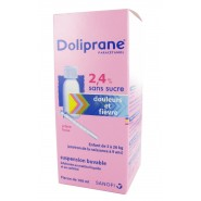Doliprane 2,4% Suspension Buvable Sans Sucre 100 ml