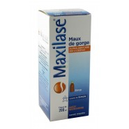 Maxilase Maux de gorge Sirop 200 ml