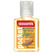 Assanis Pocket Gel Antibactérien Parfum Mangue 20 ml
