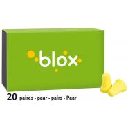 Blox Bouchons d'Oreille en Mousse Conique x 40