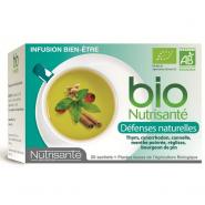 Nutrisanté Bio Infusions Défenses Naturelles x 20