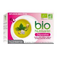 Nutrisanté Bio Infusions Dépurative x 20